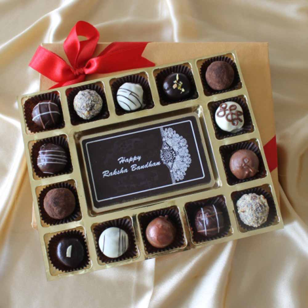 Happy Raksha Bandhan with Belgian Truffles