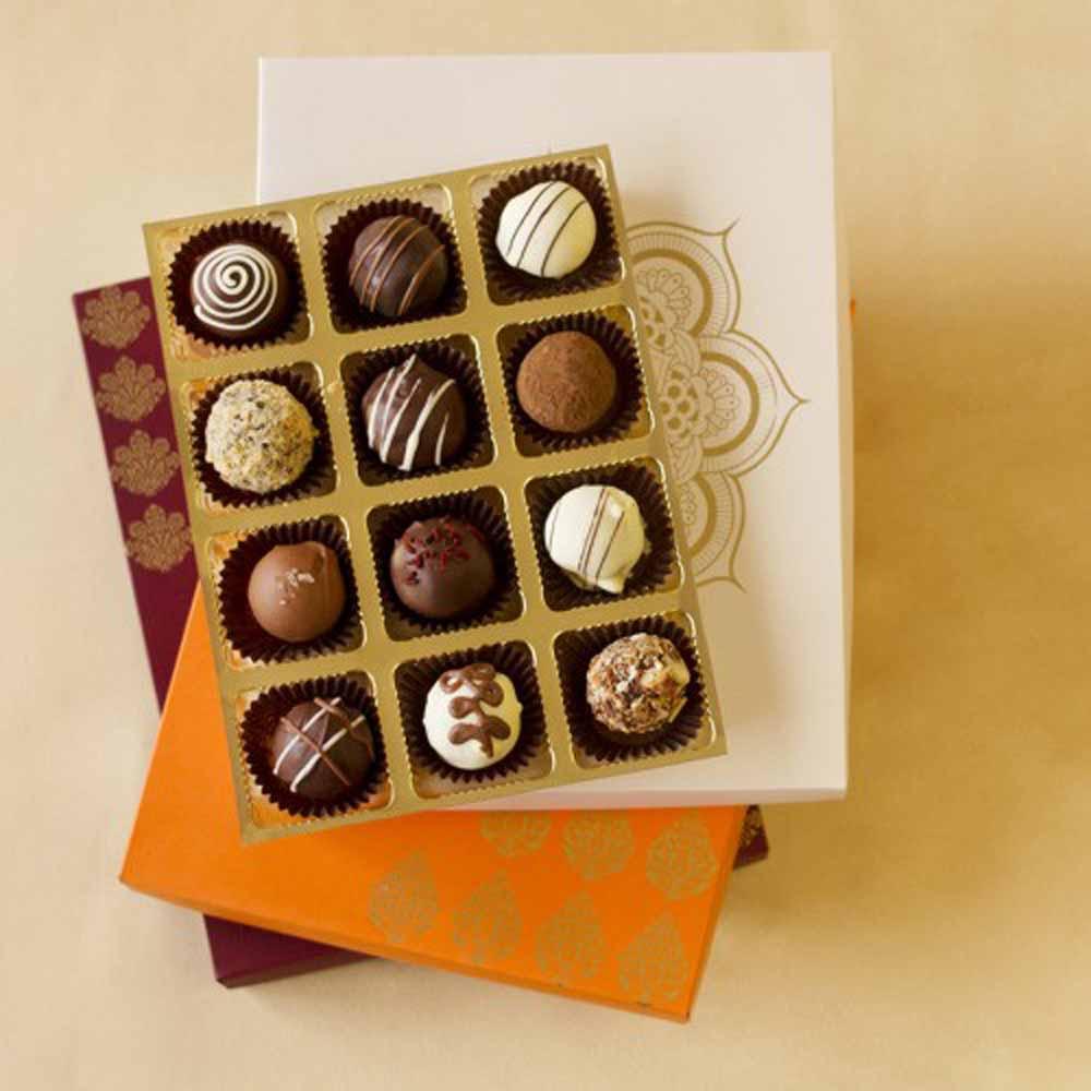 Chocolates & Cookies-Belgian Chocolate Truffles Joy