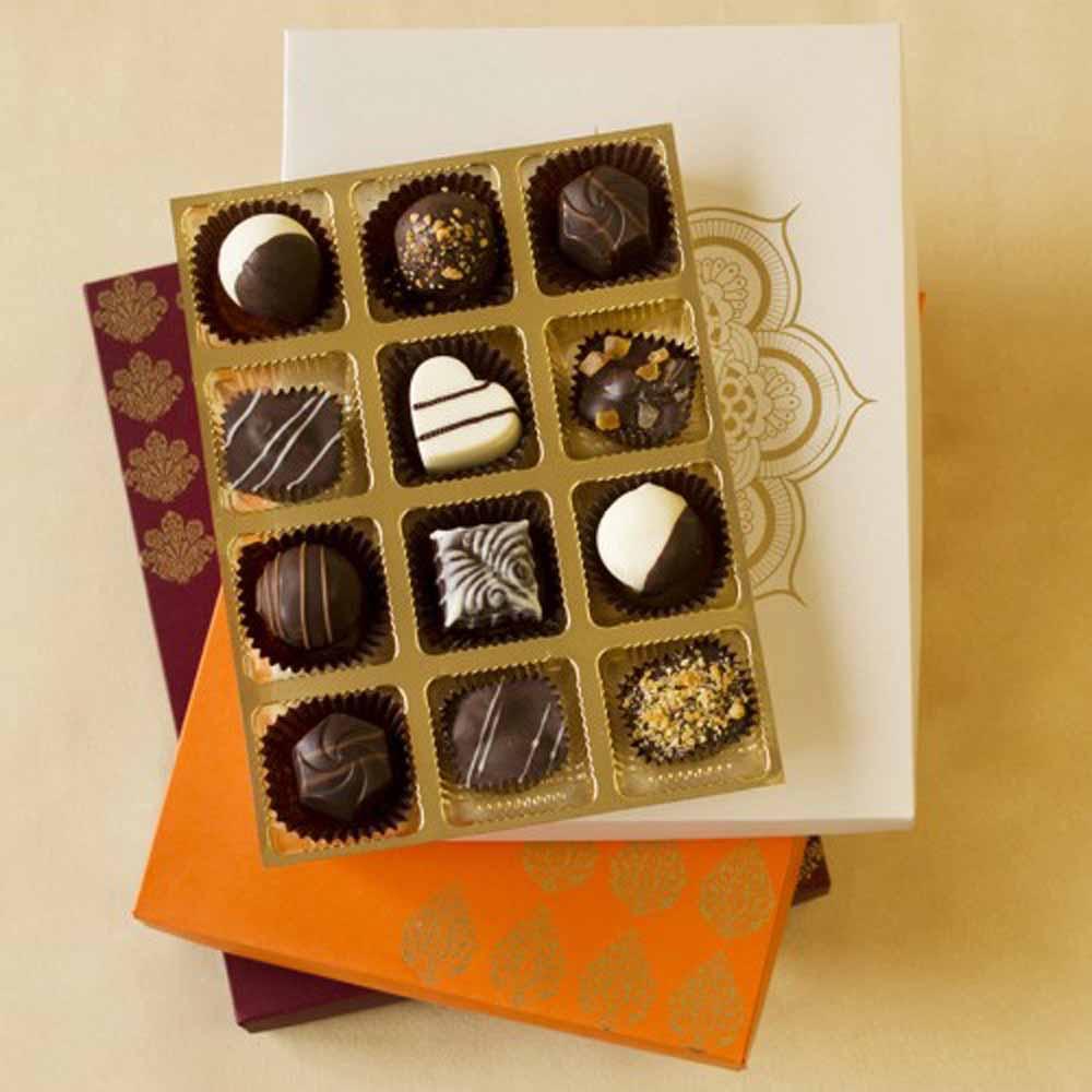 Chocolates & Cookies-Luxury Chocolate Truffles Joy