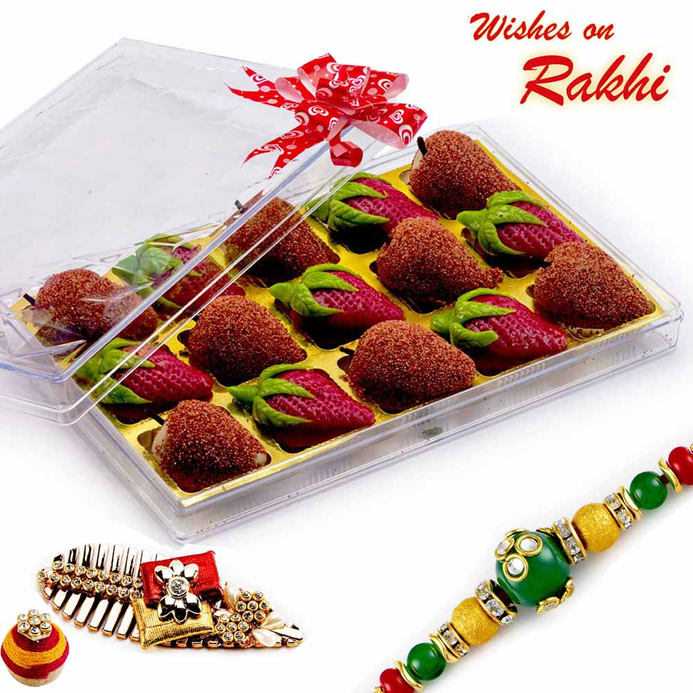 Premium Kaju Strawberry & Kaju Litchi Sweets