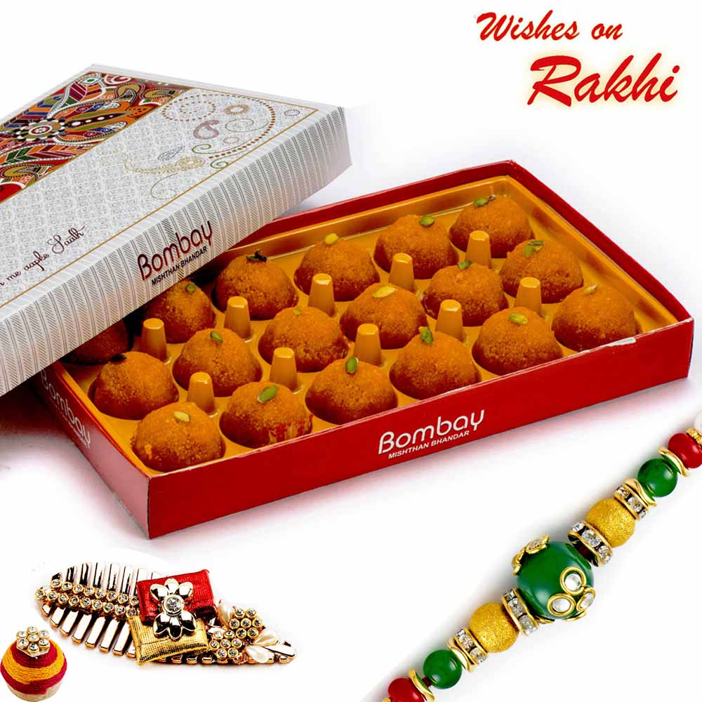 Rakhi Hampers-Premium Kanpuri Laddu Pack
