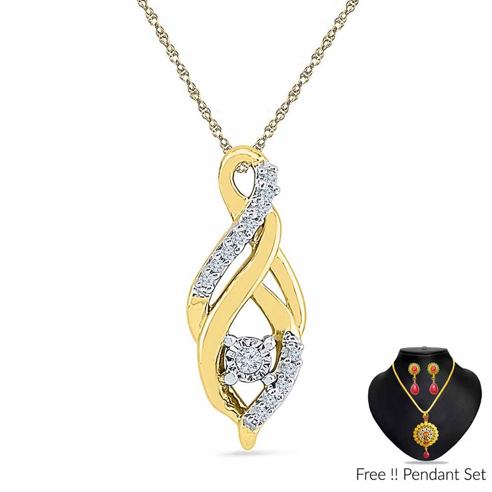 0.050 CARAT DIAMOND PENDANT