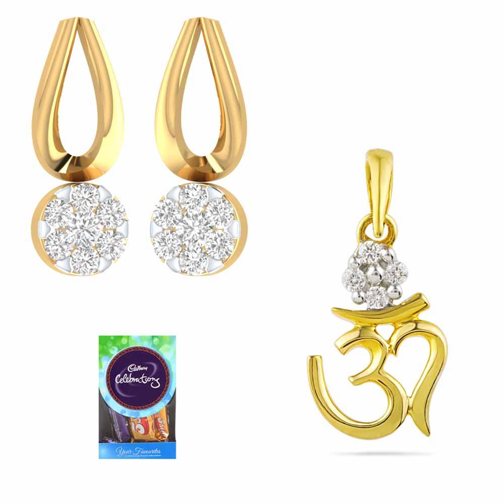 DIAMOND GIFT HAMPER FOR COUPLE