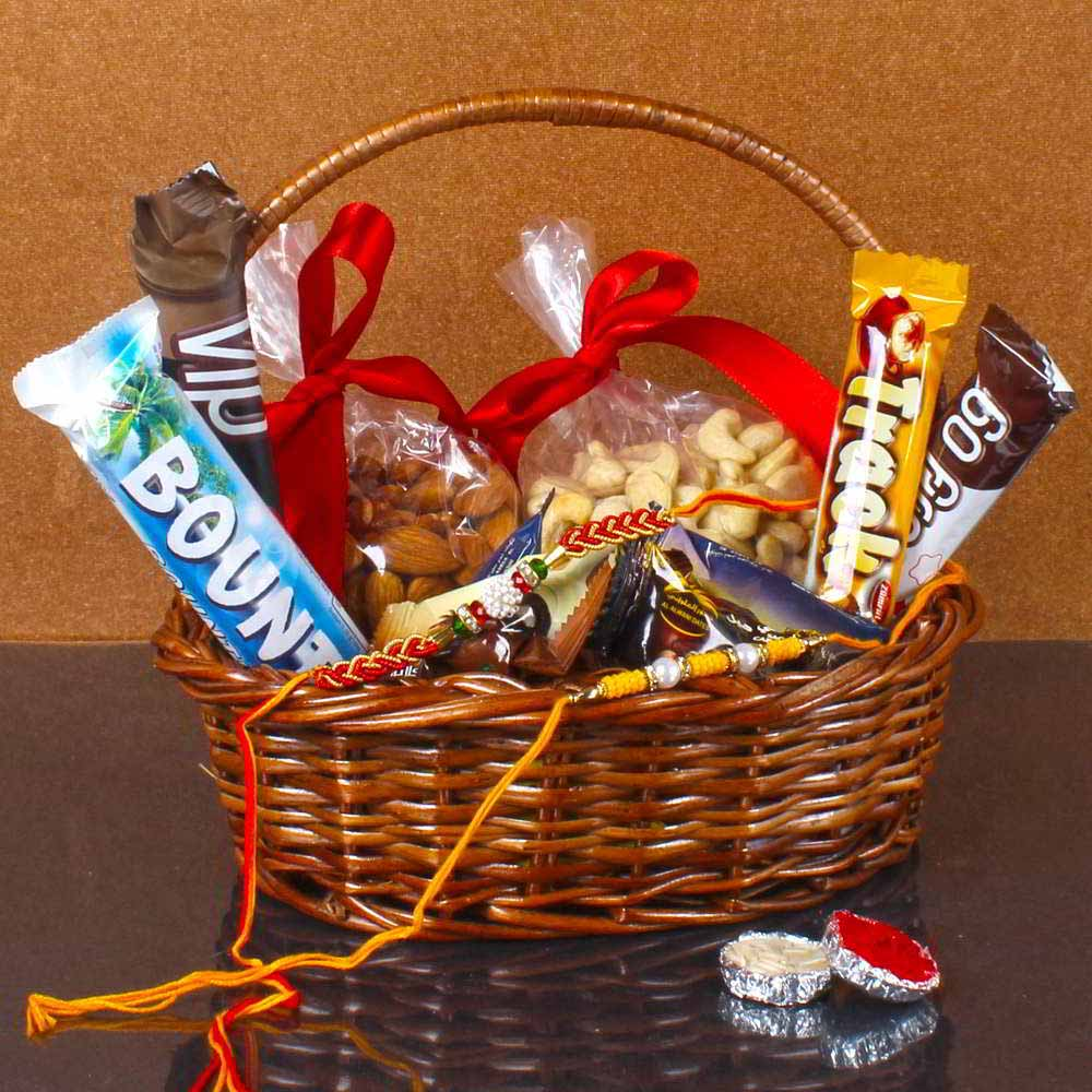 Raksha Bandhan Healthy Basket for Bhai