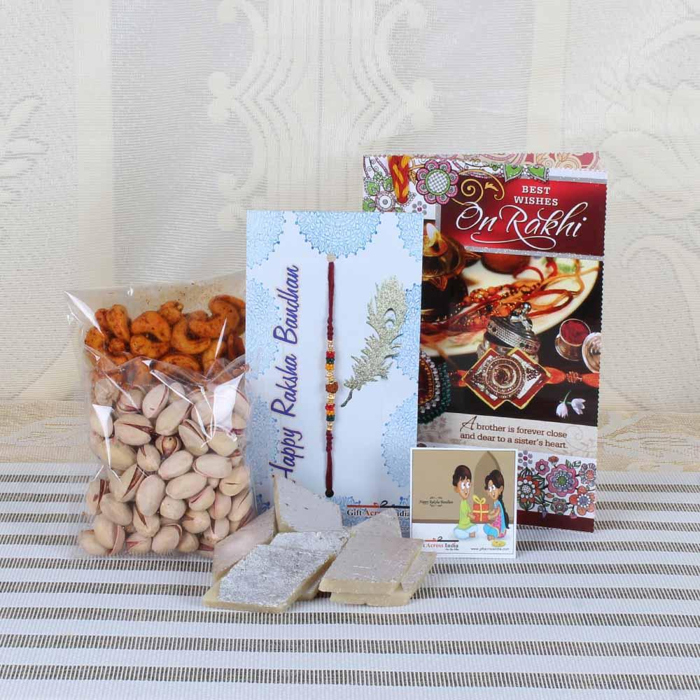 Rakhi Hampers-Classic Traditional Gift for Bhai