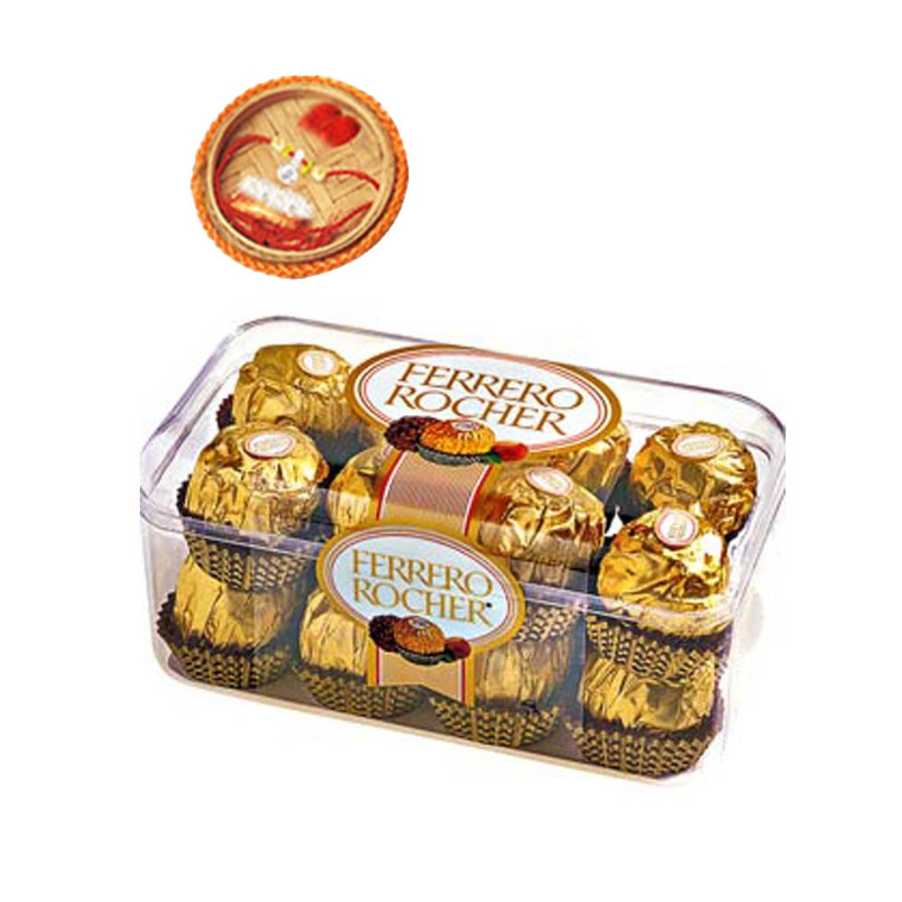 16pcs Ferrero Rocher +Rakhi Kit