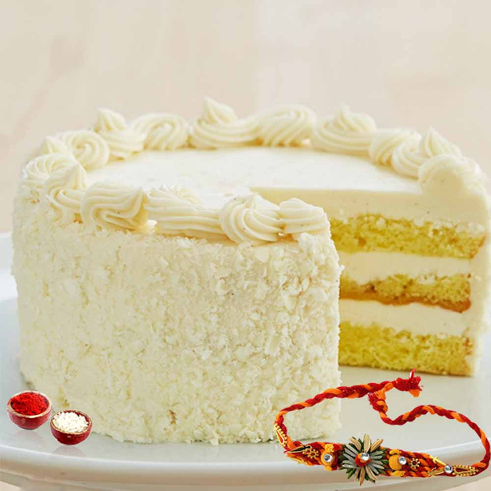 Butterscotch Cake with Rakhi