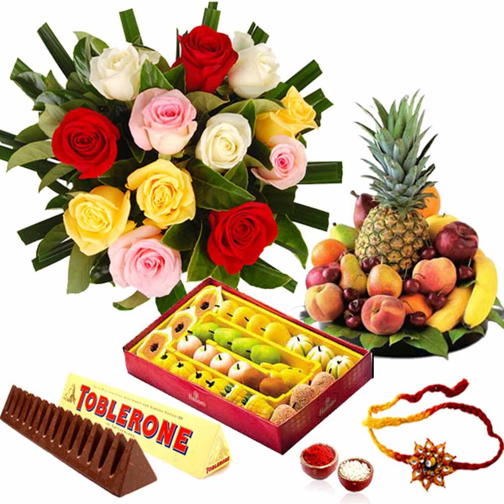 Mix Joyful Rakhi Hamper