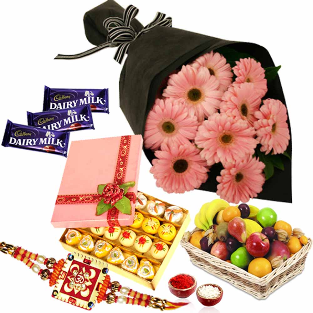 Traditional Rakhi Gift Hamper