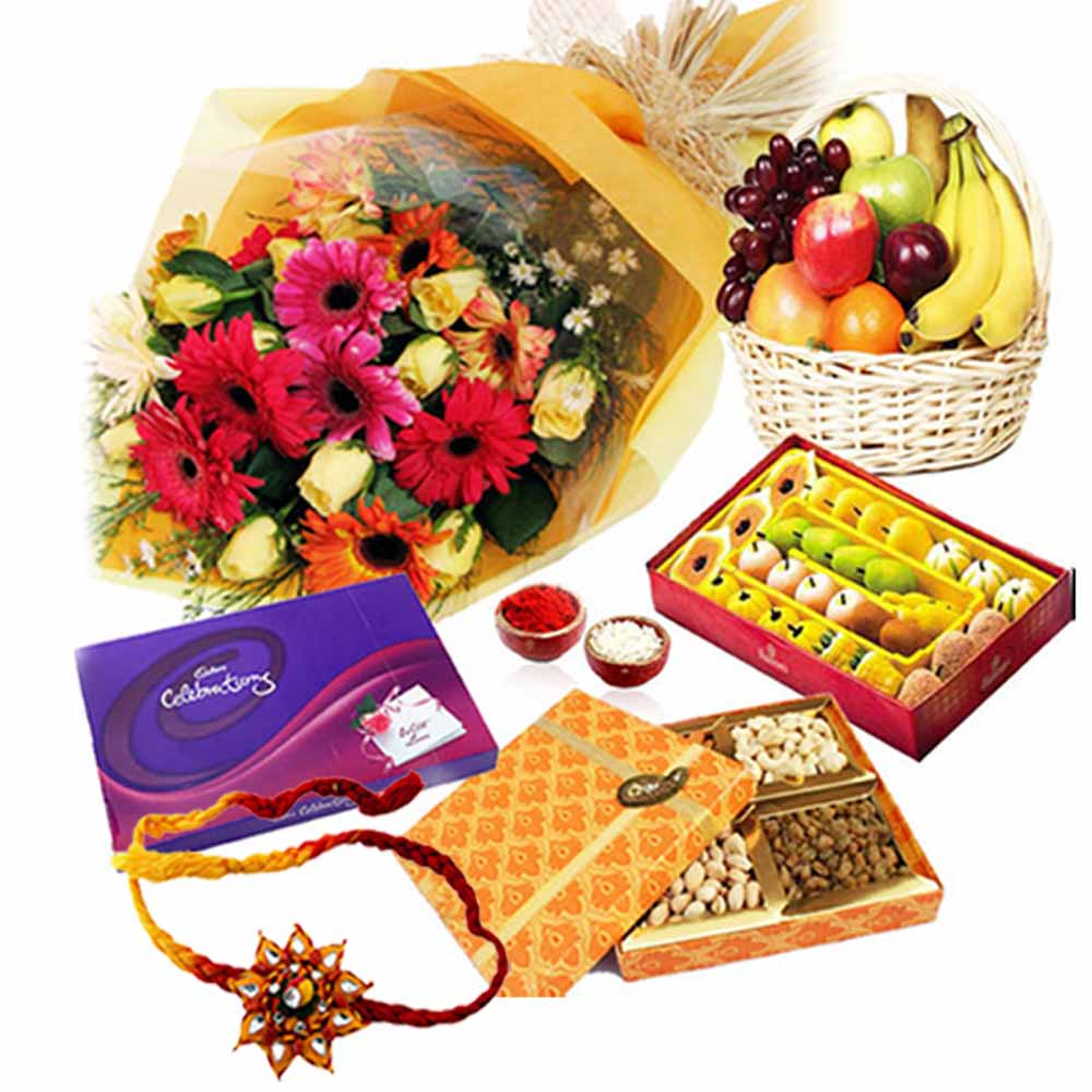Colorful Rakish Bandhan Hamper