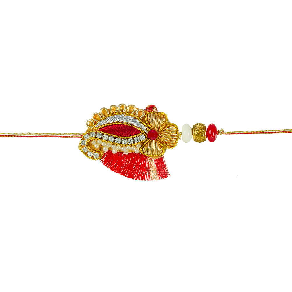 Royal Rakhi Collection-Zardozi Rakhi