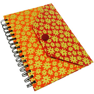 Eco-friendly Button Wiro Journal