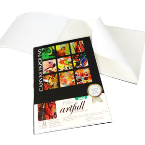 Eco-Friendly Gifts-Artfull Canvas Paper Pad - A4