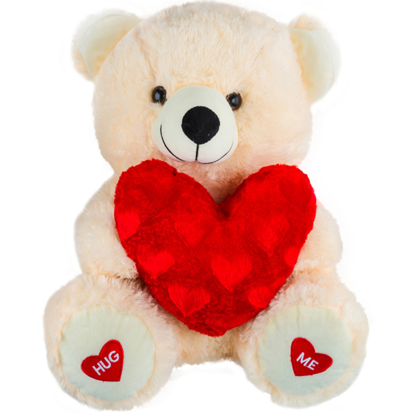 Red Hearts Teddy