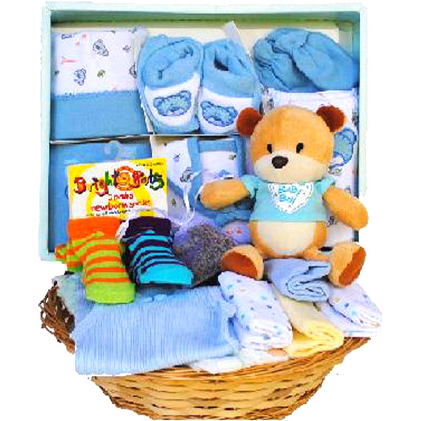 Gift Basket Combo for Baby Boy