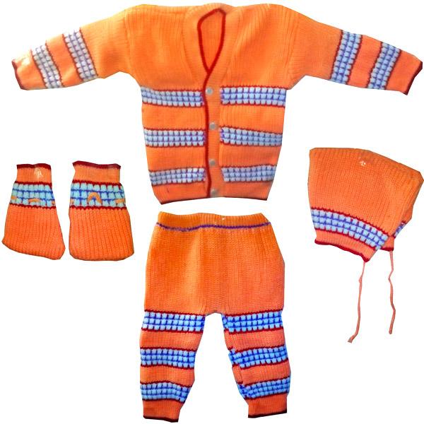 Orange Winter Wear Set