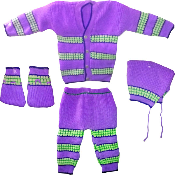 Purple Winter Wear Set
