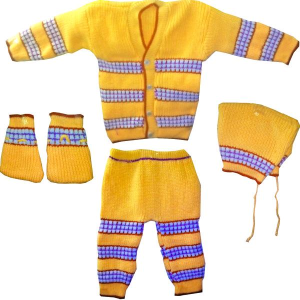 Yellow Winter Wear Set
