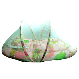 Baby Mattress with Mosquito Net & Pillow