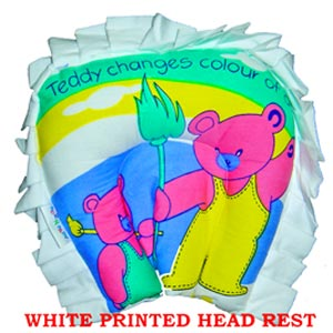 Multicolored Baby Pillow