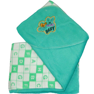 Sea Green Blanket for Babies