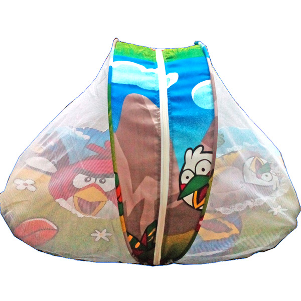 Angry Bird Baby Mattress with Mosquito Net & Pillow