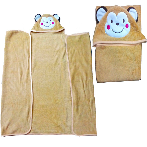 Teddy Hood Wrapper for Babies