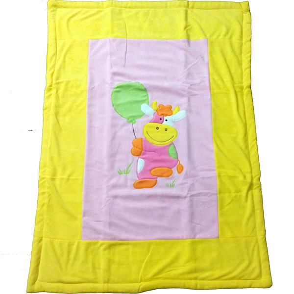 Soft Yellow Blanket for Babies