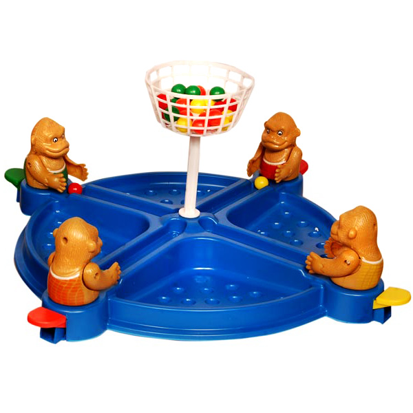 Games & Playsets-Anand Monkey Basket