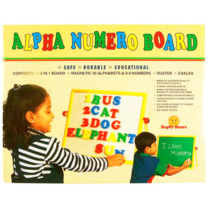 Educational-Zephyr Alpha Numero Board