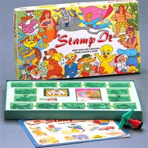 Hobbies & Crafts-Zephyr Stamp It - Cartoons