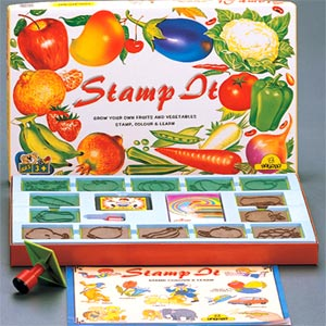 Hobbies & Crafts-Zephyr Stamp It - Fruits & Vegetables