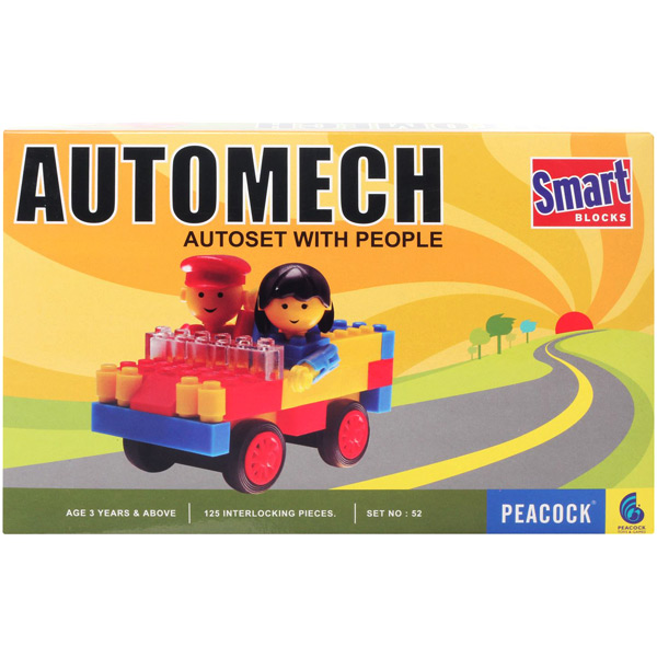 Peacock Smart Blocks - Automech