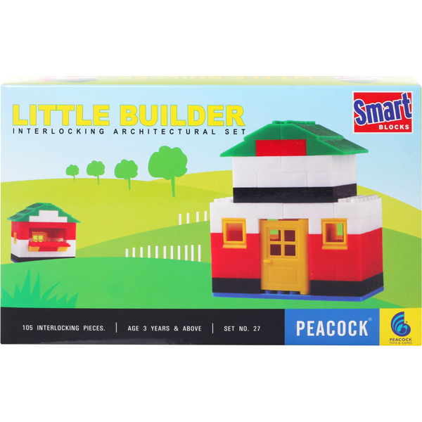 Peacock Smart Blocks - Little Builder