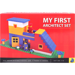 Educational-Peacock My First Architect Set