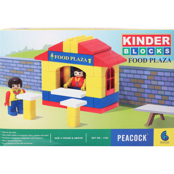 Peacock Kinder Blocks - Food Plaza
