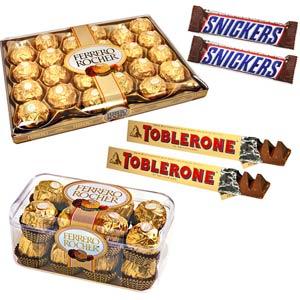 Chocolate Hampers-All in One Grand Chocolate Hamper