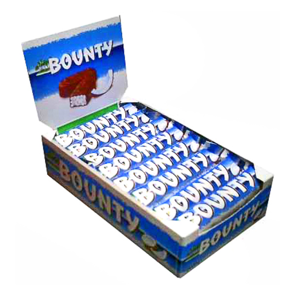 Imported Brands-Bounty Chocolates - 24 pieces Box