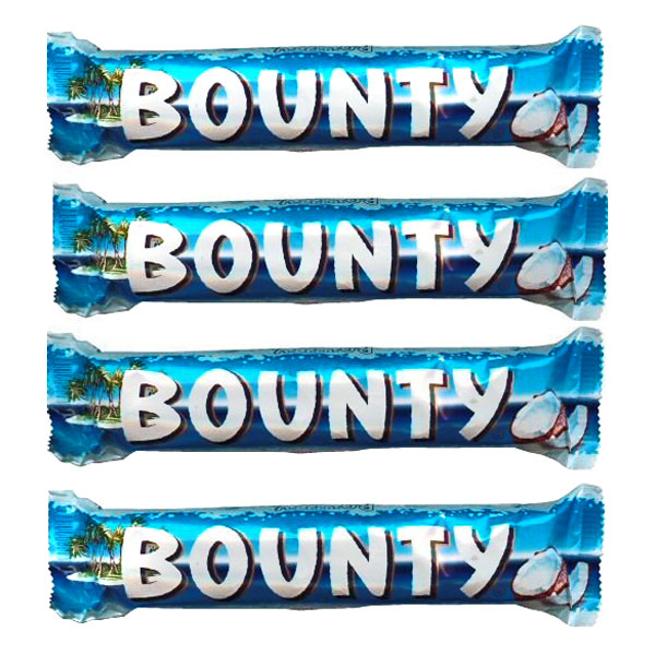 Bounty Chocolates - 4 pieces