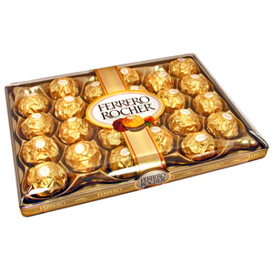 Imported Brands-Ferrero Rocher Chocolates 24 pieces