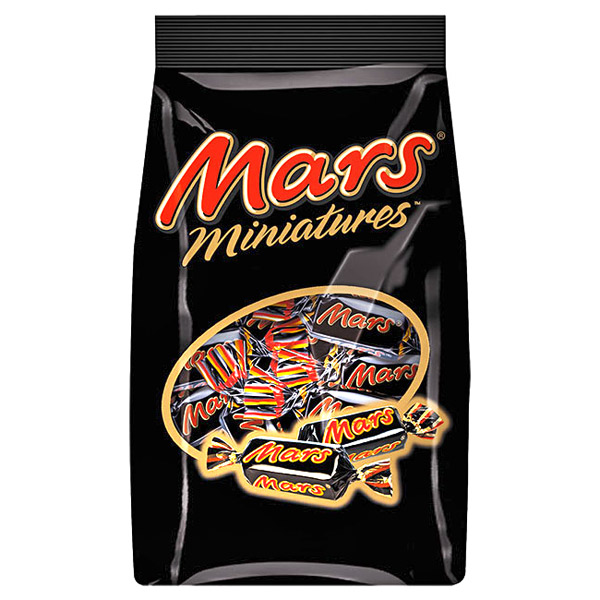 Mars Miniatures Chocolates