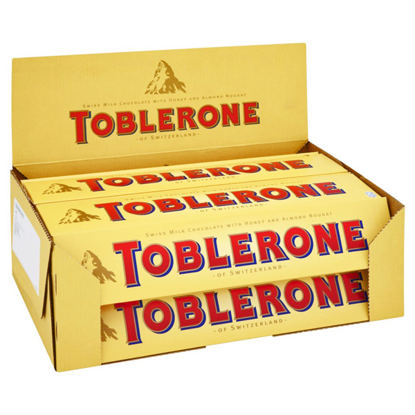 Imported Brands-Toblerone Chocolates - Pack of 20