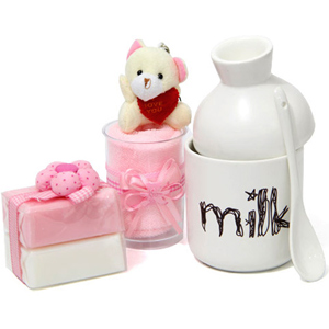 Baby Shower Hampers-Towel N Mug For Baby