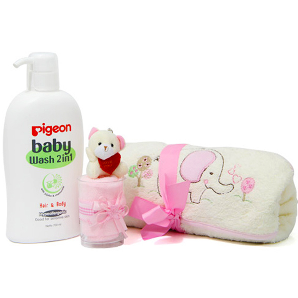 Baby Bath Hamper