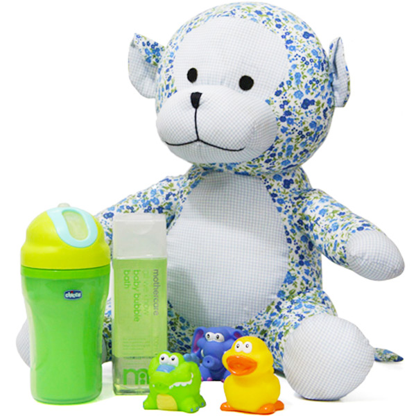 Baby Shower Hampers-Wonderful Baby Bath Combo