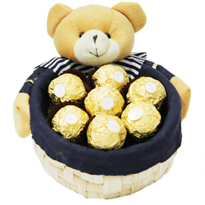 Chocolate Hampers-Basket of Love