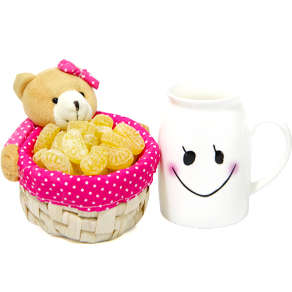 Stuffed Toys Gift Hampers-Perfect Milk Time