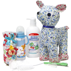 Baby Shower Hampers-Baby Feeding Bottle kit