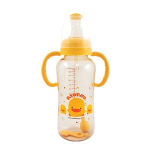 Piyo Piyo PES Nursing Bottle with Easy Reach Straw & Handle