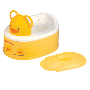 Piyo Piyo 2 Stage Potty Trainer - Yellow